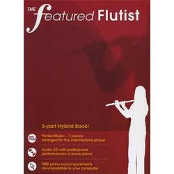 Image for Featured Flutist (Book and CD) from SamAsh