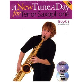 Image for A New Tune a Day for Tenor Saxophone (Book/CD/DVD) from SamAsh