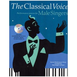 Image for The Classical Voice Performance Pieces for Male Singers (Book and CD) from SamAsh