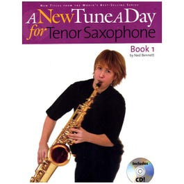 Image for A New Tune A Day for Tenor Saxophone (Book and CD) from SamAsh