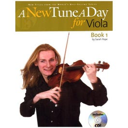 Image for A New Tune A Day for Viola Book 1 (Book and CD) from SamAsh