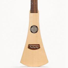 Image for Backpacker Left Handed Acoustic Travel Guitar with Gig Bag from SamAsh