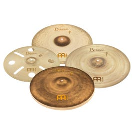"""Meinl Cymbals Byzance Vintage Benny Greb Sand Series Box Set Pack with a free 16"""" Trash Crash"""