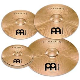 "Meinl Cymbals Classics Bonus Cymbal Pack with Free 18"" Crash"