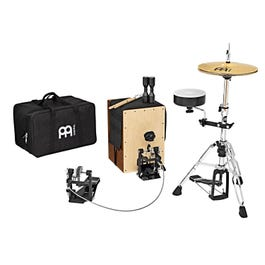 Image for Cajon Drum Set Hybrid Percussion Direct Drive Kit w/ Free Accessories from SamAsh