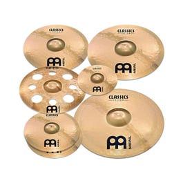 "Meinl Cymbals Classics Custom Double Bonus Cymbal Pack with Free 10"" Splash & 16"" Trash Crash"