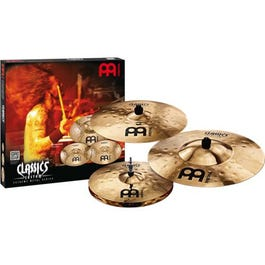 Meinl Cymbals Classics Custom Series Extreme Metal 3-Piece Cymbal Pack