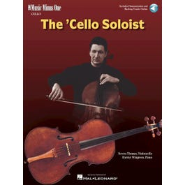 Hal Leonard The Cello Soloist – Classic Solos for Cello and Piano-Audio Online