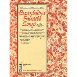 Hal Leonard Everybody's Favorite Songs - For High Voice Vol.1 (Book and CD)