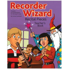 Image for Recorder Wizard Recital Pieces Teacher's Book from SamAsh