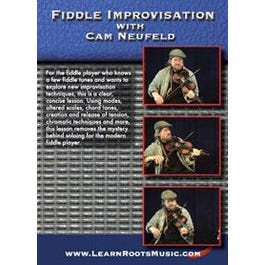 Image for Fiddle Improvisation with Cam Neufeld DVD from SamAsh