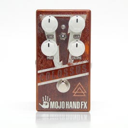 Mojo Hand FX Colossus Fuzz Guitar Effects Pedal