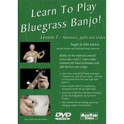 Image for Learn To Play Bluegrass Banjo Lesson 3 (DVD) from SamAsh
