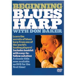 Image for Beginning Blues Harp with Don Baker (DVD) from SamAsh