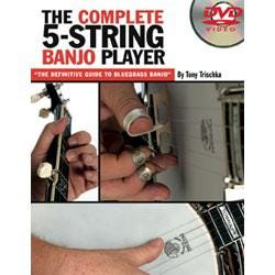 Image for The Complete 5 String Banjo Player (DVD) from SamAsh