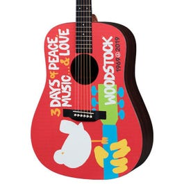 Image for DX Woodstock 50th Anniversary Left Handed Acoustic-Electric Guitar from SamAsh