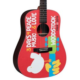 Image for DX Woodstock 50th Anniversary Acoustic-Electric Guitar from SamAsh