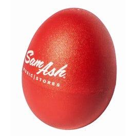 Meinl Percussion Sam Ash Custom Logo Egg Shaker, Red