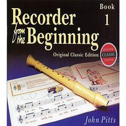 Hal Leonard Recorder From The Beginning: Book 1-Classic Edition