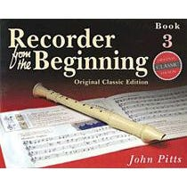 Hal Leonard Recorder From The Beginning: Book 3