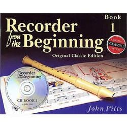 Image for Recorder from the Beginning – Book 1 -  Classic Edition -Book & CD from SamAsh
