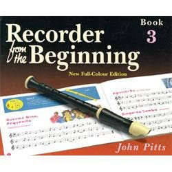 Image for Recorder From The Beginning Color Edition Pupils Book 3 from SamAsh