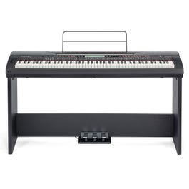 Image for ST430 Wooden Keyboard Stand with Pedals from SamAsh