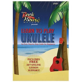 Image for Rock House Method Learn To Play Ukulele (DVD) from SamAsh