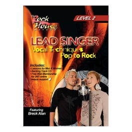 Image for Lead Singer Vocal Techniques From Pop To Rock Level 2 (DVD) from SamAsh
