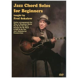 Image for Jazz Chord Solos for Beginners (DVD) from SamAsh