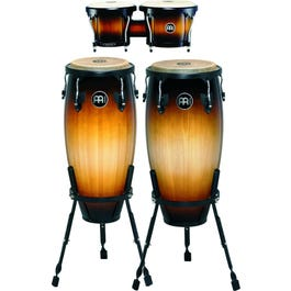 """Image for HC555 Headliner Series Congas with Free Set of Matching Bongos (10"""" and 11"""") from SamAsh"""