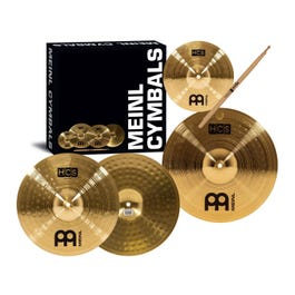 Meinl Cymbals HCS Three for Free Cymbal Pack with Free Splash