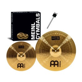Image for HCS Series 2-Piece Crash Cymbal Pack with Free Stacker from SamAsh