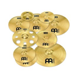 Meinl Cymbals HCS Ultimate Cymbal Pack with Free 16-Inch Trash Crash