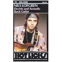 Image for Nils Lofgren Electric and Acoustic Rock Guitar (DVD) from SamAsh
