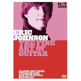 Image for Eric Johnson The Fine Art of Guitar DVD from SamAsh