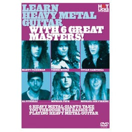 Image for Learn Heavy Metal Guitar With 6 Great Masters (DVD) from SamAsh
