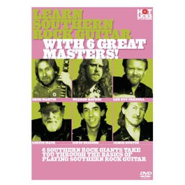 Image for Learn Southern Rock Guitar with the Greats DVD from SamAsh