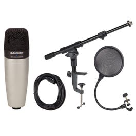 Image for C01 Condenser Microphone with Boom Arm