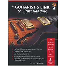 Image for The Guitarist's Link to Sight Reading (Book/CD) from SamAsh