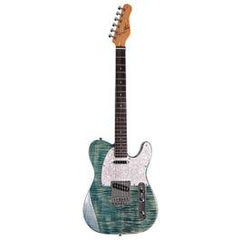 Michael Kelly 1953 Electric Guitar (Blue Jean Wash, Ebony Fretboard) (Demo)
