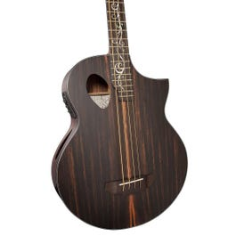 Image for Dragonfly 4 Port Java Ebony Acoustic-Electric Bass Guitar from SamAsh