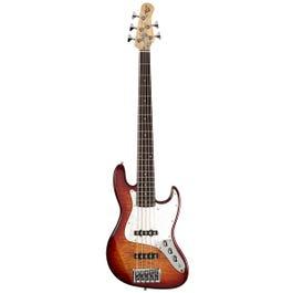Image for Element 5Q 5-String Bass Guitar (Aged Cherryburst) from SamAsh