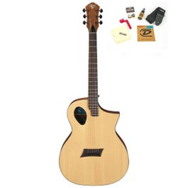 Image for Forte Port Acoustic-Electric Guitar with Accessories from SamAsh