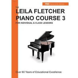 Charles Dumont & Son Leila Fletcher Piano Course Book 3 + Audio Online