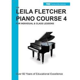 Charles Dumont & Son Leila Fletcher Piano Course Book 4 + Audio  Online