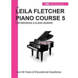 Charles Dumont & Son Leila Fletcher Piano Course Book 5  + Audio Online