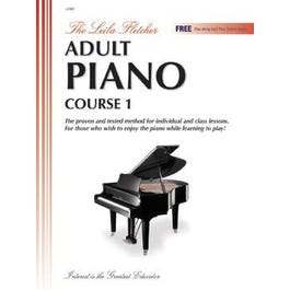 Charles Dumont & Son Leila Fletcher Adult Piano Course Book 1-Book + Audio Online