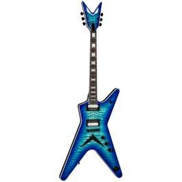 Dean ML Select Quilt Top Electric Guitar(Ocean Burst)