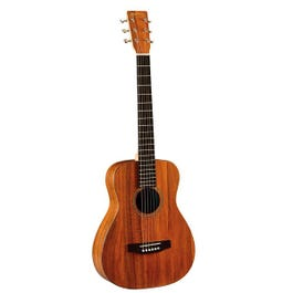 Image for LXK2 Little Martin Acoustic Guitar (Koa Pattern HPL Top) with Padded Gig Bag from SamAsh